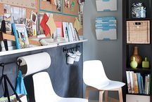 Ideas for a play/craft room  / by Karen Hinds Beam