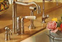 Kitchen Faucets / Kitchen faucets are main point in your kitchen; you can't find any kitchen without faucets, so manufacturers paid their attention for making many types, hues, designs and styles of kitchen faucets that you may be confused to choose from these. As a result for the new innovations and beautiful kitchen faucets designs, kitchen faucets are no longer used now for having water only but also it used as decorative accessories for your kitchen. / by kitchen designs 2014 - kitchen ideas 2014 .