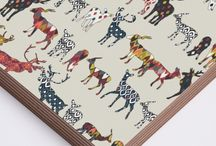 PRINTS ON WOOD / by Sharon Turner   Scrummy Things