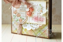 Cards with Stitching / by Sharron Moerke