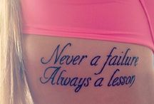 Tattoo, art and quotes / by RUBY VALENZUELA
