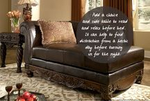 Inside the Home / Living rooms, dining rooms and bedrooms, oh my! / by Ashley Furniture HomeStore