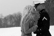 if my Marine gets married / by Melanie Clement