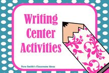 Writing Center Activities for K - 6th Grade / Fern Smith's Pinterest Board for Writing Center Activities for Teachers K - 6th Grade Including Freebies!  / by Fern Smith