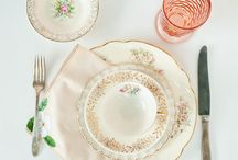 Dishes and China / Things Needed to Complete the Dining Room - Someday! / by Mary Cefalu