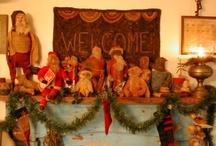 Primitive Christmas / by Connie Tesene
