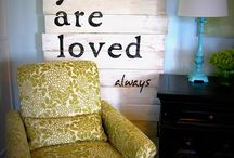 home decor / by Cheryl Busenbark