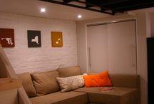 Basement Reno Ideas / Ideas for making our basement a living space / by Jennifer Zduniak