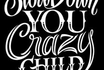 Typography / by Shelly Berlinguet