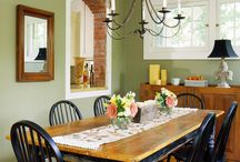 Home Design Ideas - Dining Room / by Pam Willis