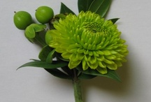 wedding | green flowers / by Donna Caruthers