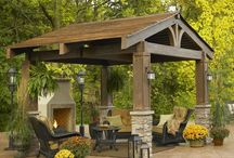 Garden Structures, Patios, Fireplaces / by Denise Whitehead