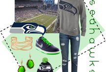 Seattle and Seahawk 12th Man / by MAUIGRANDMA03