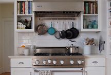 cookbook storage ideas... / -i love love love cookbooks & am always looking for new ways to store them- / by {daphne} flip flops pearls & wine