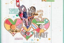 Cool Scrapbook Layouts / by All Scrapbook Steals