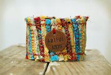 Fabric Bracelet / by Jeanne Mohler