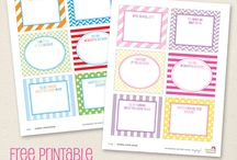 Printables  / by Mumtopia