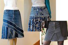 Jeans, jupe, pantalons / by Christine Cosentino