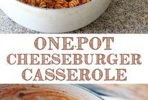 casseroles / by Carla T