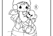Coloring Pages / by Stephanie Young