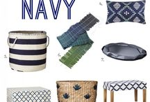 My new navy bedroom / by Andi Self Milam