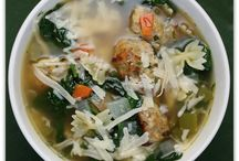 Soups / by Merrillena Mears