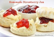 Homemade Jams / by Michelle Gutierrez (MsHoverfly.com)