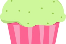Cupcake Clip Art / by MyCuteGraphics