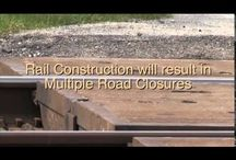 Union Pacific Railroad Construction / by City of Sugar Land