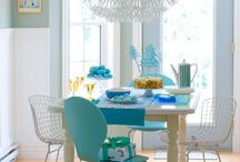 dining room / by Amy T Schubert