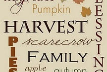 Halloween/Fall/Thanksgiving / by Jayme Young