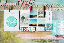 Scrapbooking TRAVEL Layout Ideas / by Nas Costa