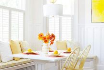 dining room  / by Steph Bargainfun