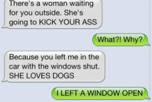 FUNNY: Texts from Dog / by Tina Gray