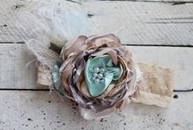 Flowers, Headbands & Bows / by Renee Lovato