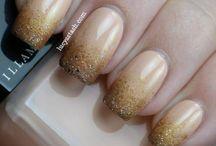 Nail Art / Nails acrylic crazy gel nails / by Rikke Martin