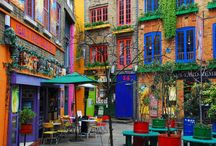 Colourful Places / by Victoria Mansfield