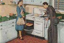 Architecture -- vintage kitchen / by Lisa Lazar