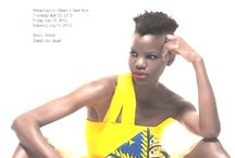 African Inspired Designers, Fashion and Style! / by Donna Johnson-Heard