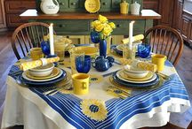 Fiestaware Tablescapes and Displays / by Dede King