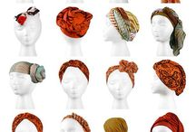 Head scarf / All things nice  / by Wilna Stander