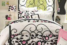girls bedroom ideas / by Jennifer Gates Bill