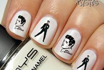 ELVIS NAIL ART / by Melissa Campbell