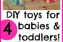 DIY Baby Toys / by Alexa Weitzman
