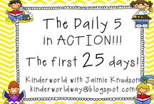 The daily 5 / by Jenn Nelson