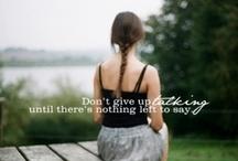 Wise Words / by Caitlin Savko