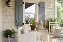 Porches, Patios and Rooftops / by Amy Lewis