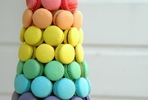 Macaroon Cakes / by CaljavaOnline.com