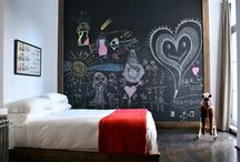 Chalkboard Walls / by Mosby Building Arts