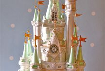Castle themed cakes / by Astrid Deetlefs